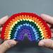 Rainbow Applique pattern