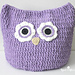 Oversized Owl Pillow pattern