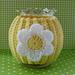 Daisy Jar Cozy pattern