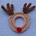 Rudolph the Red Nose Ring Ornament pattern
