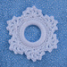 Lacy Snowflake Ring Ornament pattern