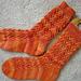 Flying Arrows Socks pattern