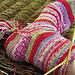 Toe up heel flap sock tutorial pattern
