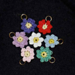 Flower Garden Stitch Markers pattern