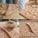Diampoth potholder & hand towel pattern