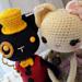 Kitty Dolls ~ Lady Clementine & Lord Jack~ pattern