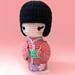 Haru, the Kokeshi Doll pattern