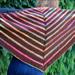 RainbowRainbow Shawlette pattern