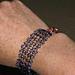 Purple Beaded Bracelet and Necklace pattern