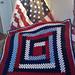 Patriotic Lapghan pattern