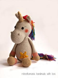 33 Crochet Unicorn Patterns | The Crochet Crowd | 320x240