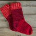 Crabapple Slipper Socks pattern