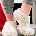 Cozy Christmas Morning Slippers pattern