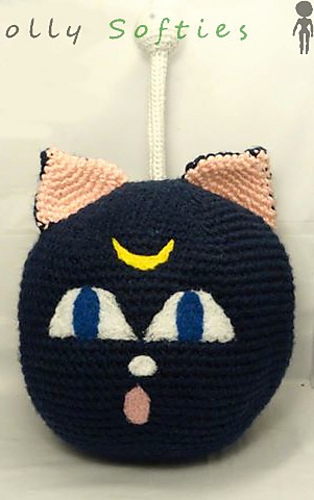 Luna Lovegood Amigurumi Schlüsselanhänger Puppe häkeln von | Etsy | 500x314