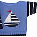 Sailboat Boat Neck pattern