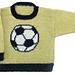 Soccer Ball Pullover pattern