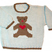 Teddy Bear Pullover pattern