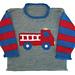 Fire Truck Roll Neck pattern