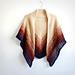 Gradient Garter Stitch Shawl pattern
