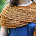 Sunflower Shawlette pattern