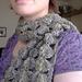 Scallop scarf pattern