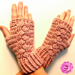 Braided Fingerless Gloves pattern