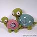 The Slow Pokes - Turtles pattern
