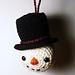 Bo the Snowman pattern