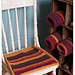 Garter Stripe Chair Pads pattern