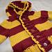 Harry Potter Gryffindor Baby Jacket/Sweater pattern