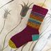 Punkter Socks pattern