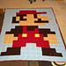 Granny Square Mario Bedspread pattern