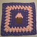 Cupcake Granny Square pattern