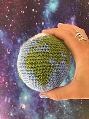 Crochet Globe / Crochet Earth / Crochet World Pattern by Ruth Haydock