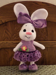 Dress me bunny boy and girl - Free amigurumi pattern | 320x240