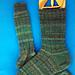 5x1 Ribbed Socks pattern
