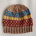 Color Work Beanie pattern