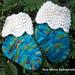 Lace Cuff Baby Socks pattern
