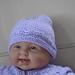 Hat to match seamless yoked baby sweater pattern