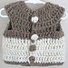 Chunky Sweater Vest pattern