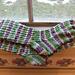 Mardi Gras Socks pattern