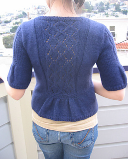 Lush and Lacy Cardi back