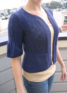 Lush and Lacy Cardi Front