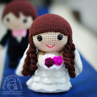 My Amigurumi Wedding Doll — Steemit | 320x320