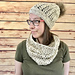 Aspen Beanie and Cowl Set pattern