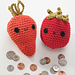 Carrot and Tomato Coin Purses pattern