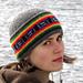 Joey's Fair Isle Beanie & Slouchy Hat  pattern