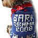 BARK OBAMA 2012 Dog Sweater pattern