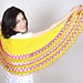 Loaded Taco Shawl pattern