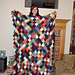 Triangle Patch Blanket pattern